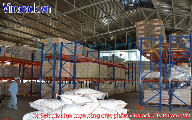 Kệ selective chứa pallet