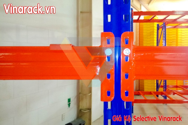 thanh beam kệ selective để pallet